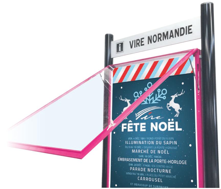 porte-affiche-vire-normandie