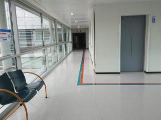 Signalétique intérieure et marquage au sol - Hôpital d'Avranches